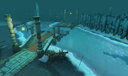 God Wars Dungeon icy water