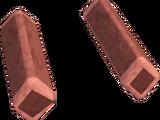 Orange diamond key