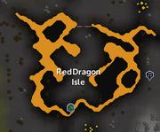 Red Dragon Isle map