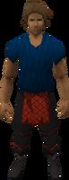 Retro tiered breeches