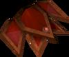Shield right half detail