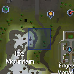 Small Dune (Ice Mountain) location