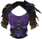 Blessed dragonhide body (Zaros) detail