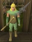 Elf warrior (Cadarn pike) old