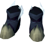 Hailfire boots detail