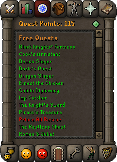 Quest point interface 2007