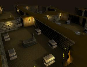 Shade catacombs scenery