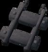 Steel track 80% detail