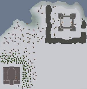 The North kaart