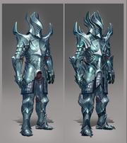 Aetherium armour concept art