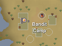 Desert bandit camp