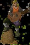 Fishing guild musician