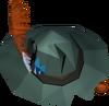 Fishing hat detail