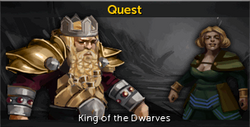 King of the Dwarves noticeboard