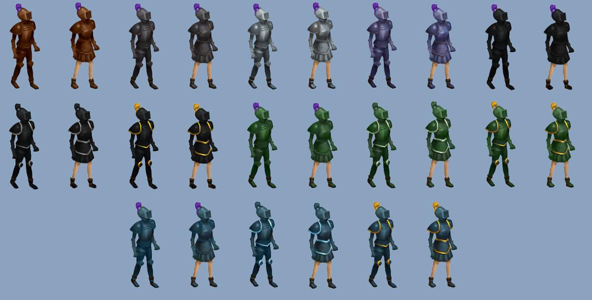 Solomons General Store Retro Armour 3 Runescape Wiki Fandom