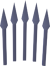 Mithril bolts (unf) detail