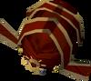 Modified diviner's headwear detail