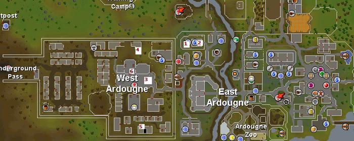 Plague City Kartta