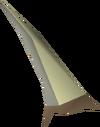 Ponta de dardo dragônica detalhe