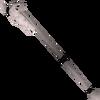 Skull sceptre detail