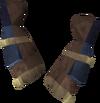Smith's gauntlets (rune) detail