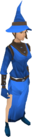 Wizard robes (blue) female equipped