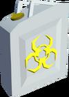 Biohazard cannister detail