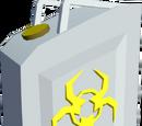 Biohazard cannister