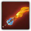 Blazing flamberge icon