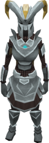 Gorgonite chain armour set (sk) (female) equipped