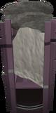 Grave creeper trap detail
