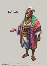 Hassan concept art