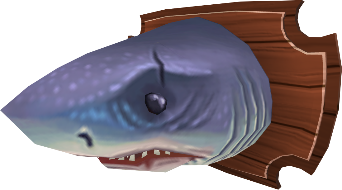 Mounted great white shark runescape wiki fandom powered by wikia