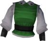 Musketeer's top (green) detail