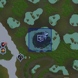 Nature Spirit (NPC) location