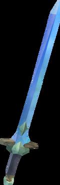 Off-hand marmaros longsword detail