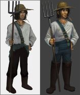 RuneScape Idle Adventures Farmer Fred concept art