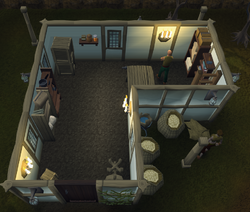 West Ardougne General Store interior