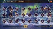 Christmas Advent Calendar (2019) interface
