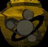 Cracked divination urn (unf) detail