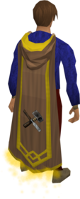 Crafting master cape equipped