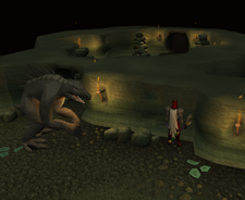 Dagannoth mother safespot (Blood Runs Deep)