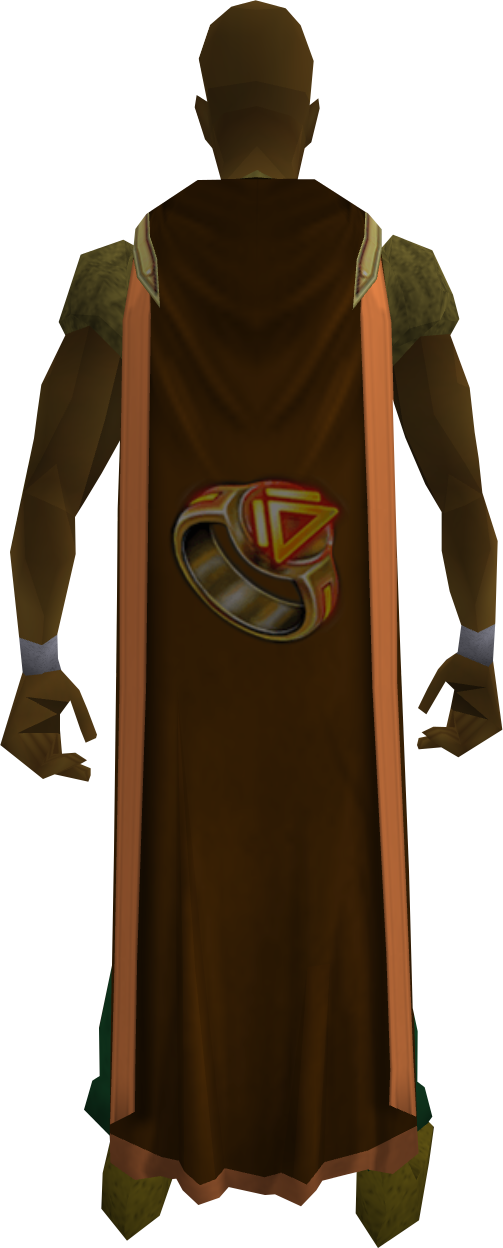 Dungeoneering cape (t) equipped