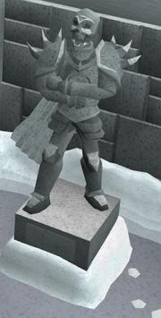 Generaal Khazard standbeeld