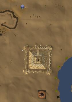 Pirâmide Jaldraocht mapa