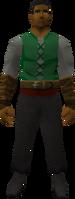 Retro sleeveless cowl