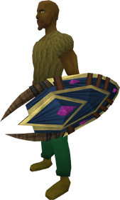 Spiritbloom shield equipped