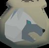 Arctic bear pouch detail