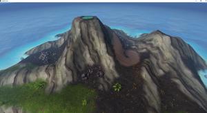Braindeath Island Volcano