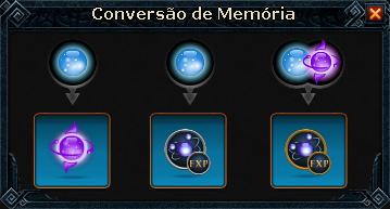Conversão de memórias